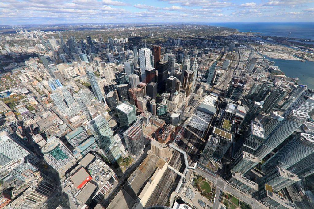 SkyPod view 447m CN Tower Toronto / Foto: Oliver Asmussen/oceanliner-pictures.com