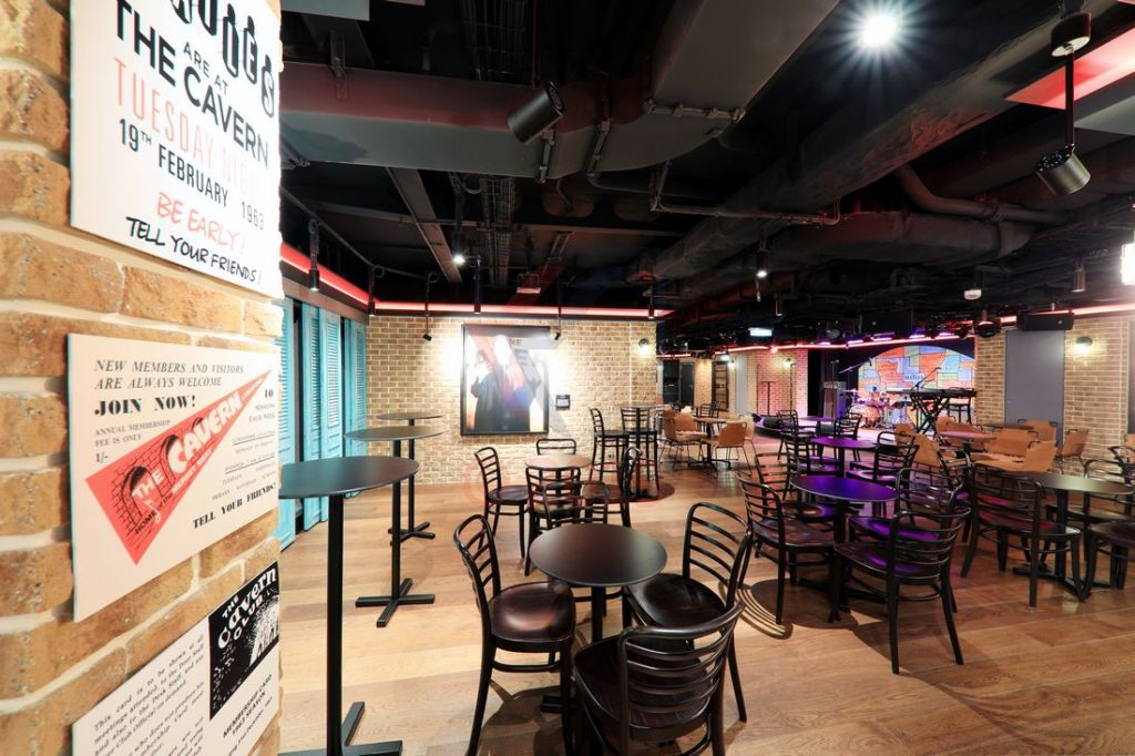 The Cavern Club Norwegian Encore / Foto: Oliver Asmussen/oceanliner-pictures.com
