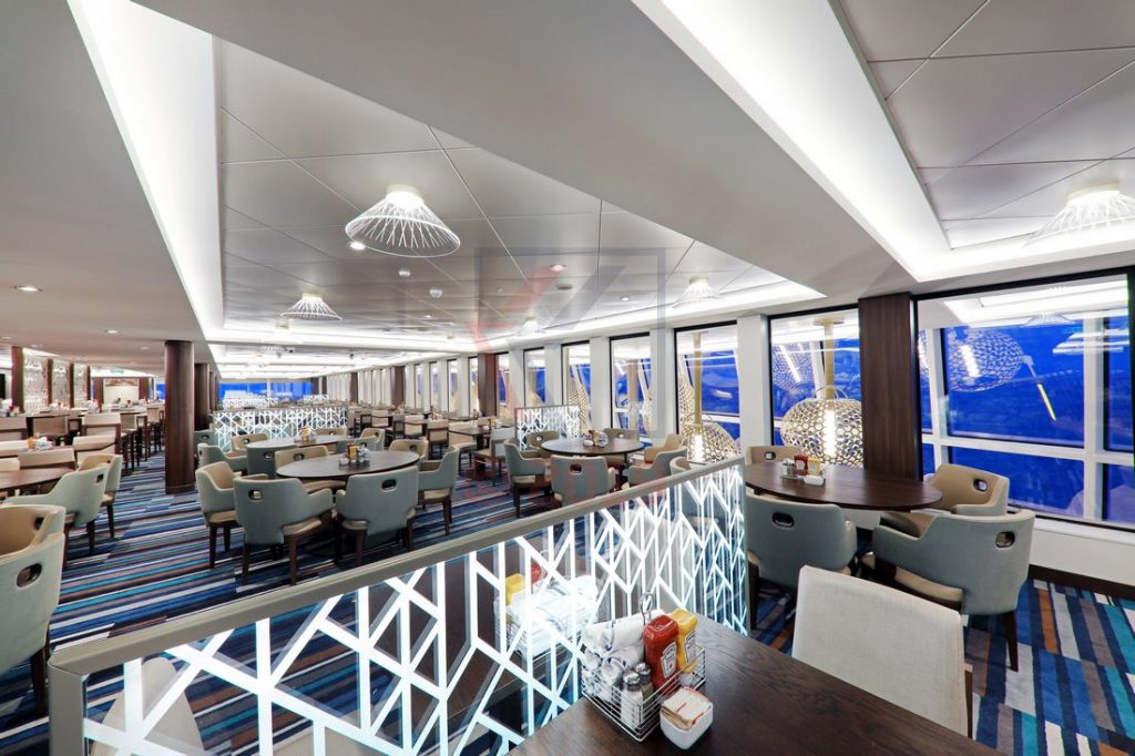 The Garden Cafe Norwegian Encore / Foto: Oliver Asmussen/oceanliner-pictures.com