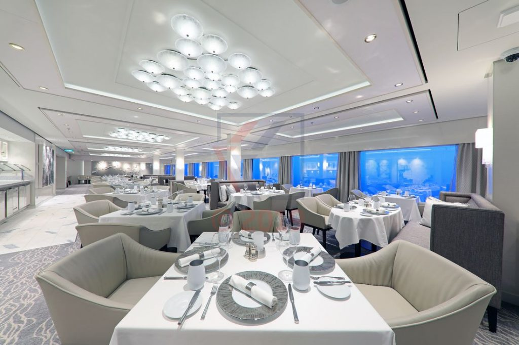 The Haven Restaurant Norwegian Encore / Foto: Oliver Asmussen/oceanliner-pictures.com