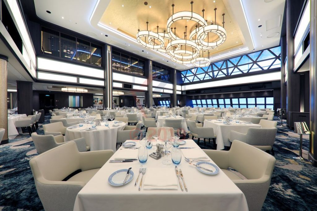 The Manhattan Dining Room Norwegian Encore / Foto: Oliver Asmussen/oceanliner-pictures.com