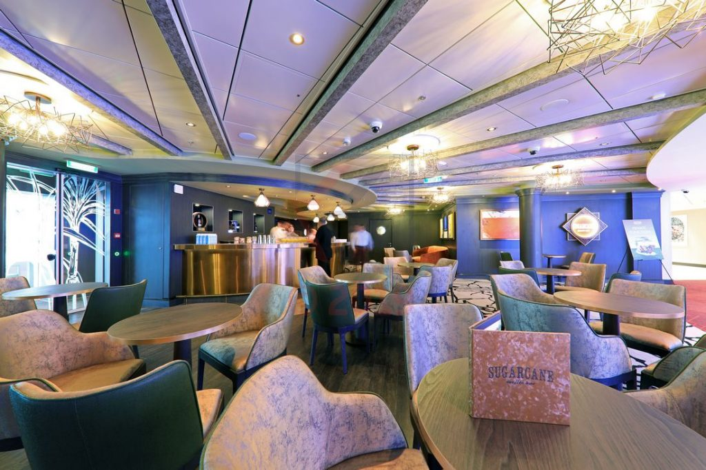 The Sugarcane Mojito Bar Norwegian Encore / Foto: Oliver Asmussen/oceanliner-pictures.com