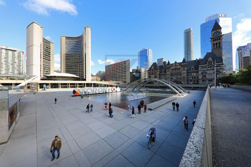 Toronto City Hall und Old City Hall / Foto: Oliver Asmussen/oceanliner-pictures.com