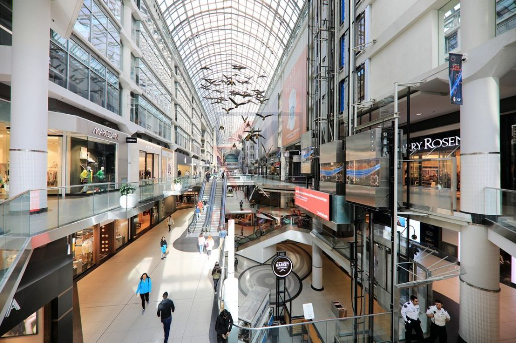 Toronto Eaton Centre / Foto: Oliver Asmussen/oceanliner-pictures.com