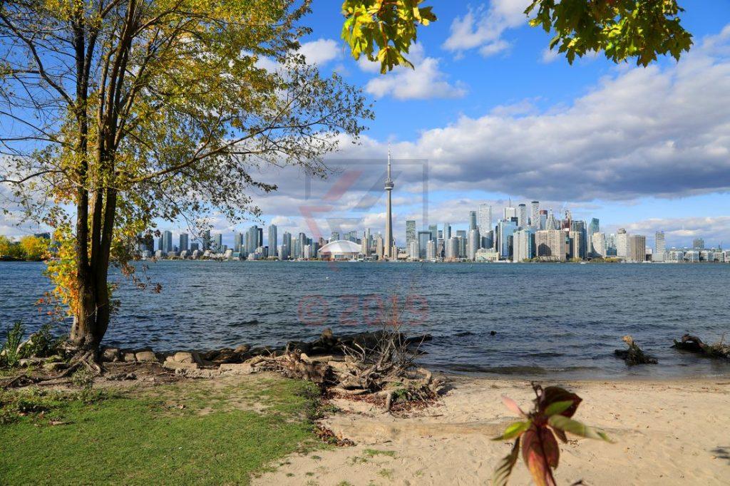 Toronto Skyline Blick von Toronto Islands aus / Foto: Oliver Asmussen/oceanliner-pictures.com