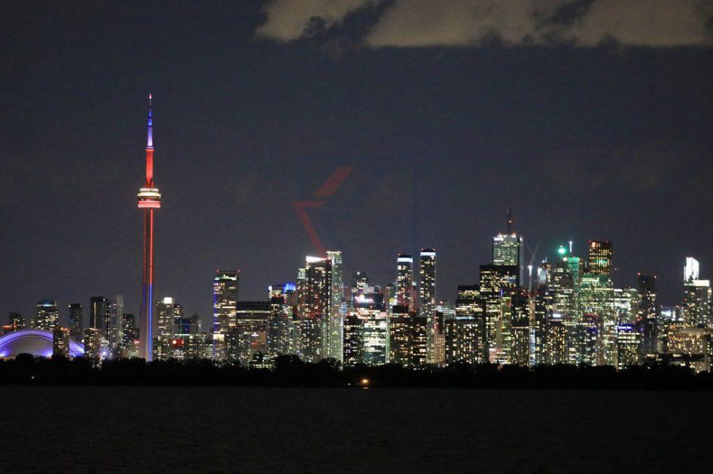 Toronto Skyline bei Ankunft MS Hamburg / Foto: Oliver Asmussen/oceanliner-pictures.com