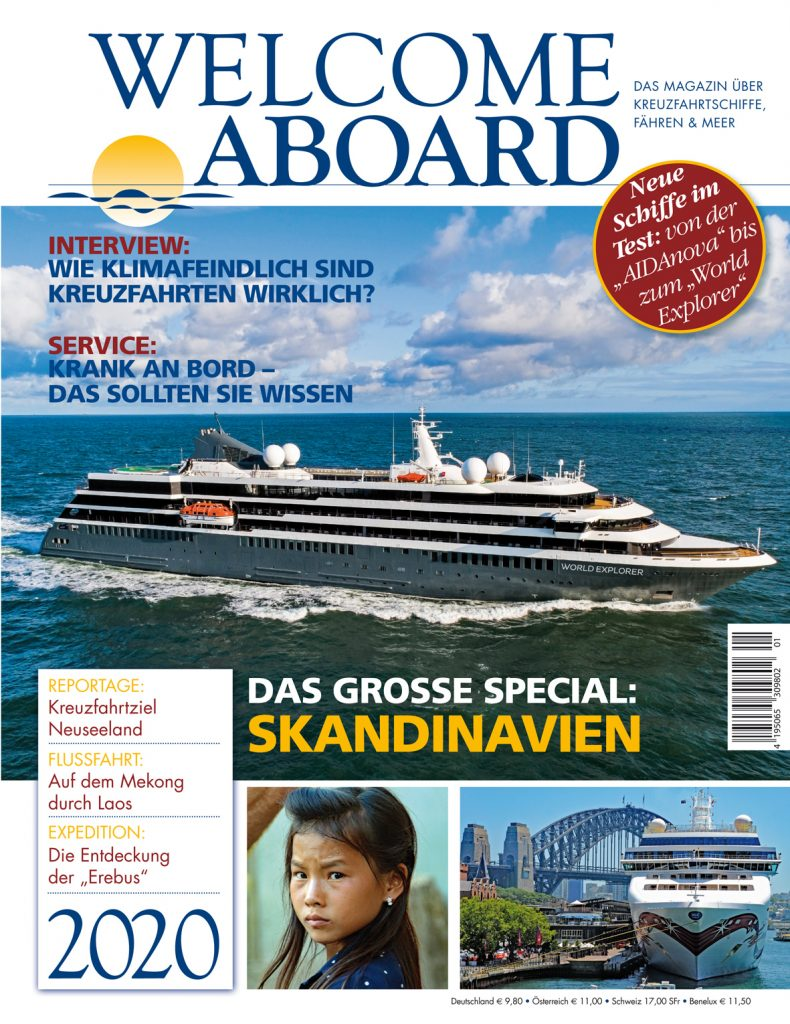 Welcome Aboard Magazin 2020 Cover