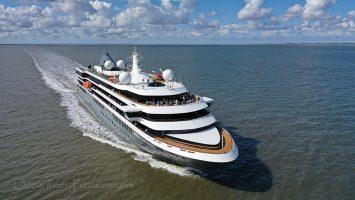 nicko cruises World Explorer mit Schottel Pump Jet Antrieb / Foto: Oliver Asmussen/oceanliner-