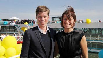 Benjamin Krumpen mit seiner Frau Sarah